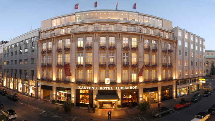 Kastens Hotel Luisenhof is located in the centre of Hannover, opposite the main station.