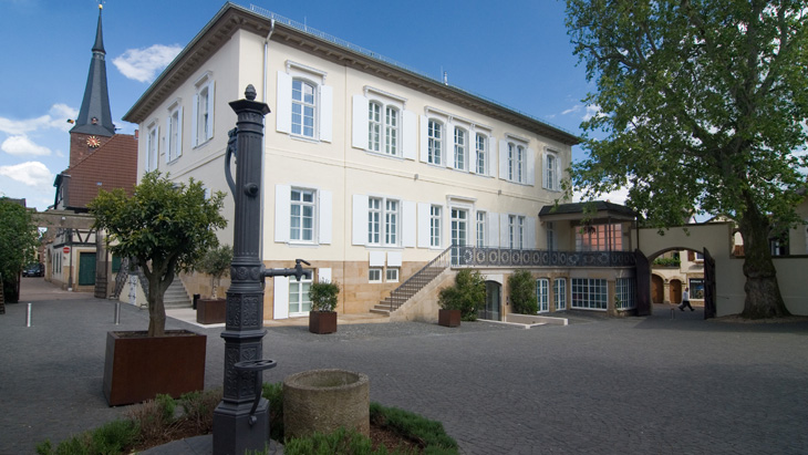 The Hotel Ketschauer Hof in Deidesheim was formerly a manor house.