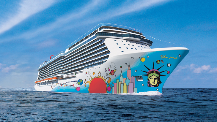 Norwegian Breakaway cruise ship.