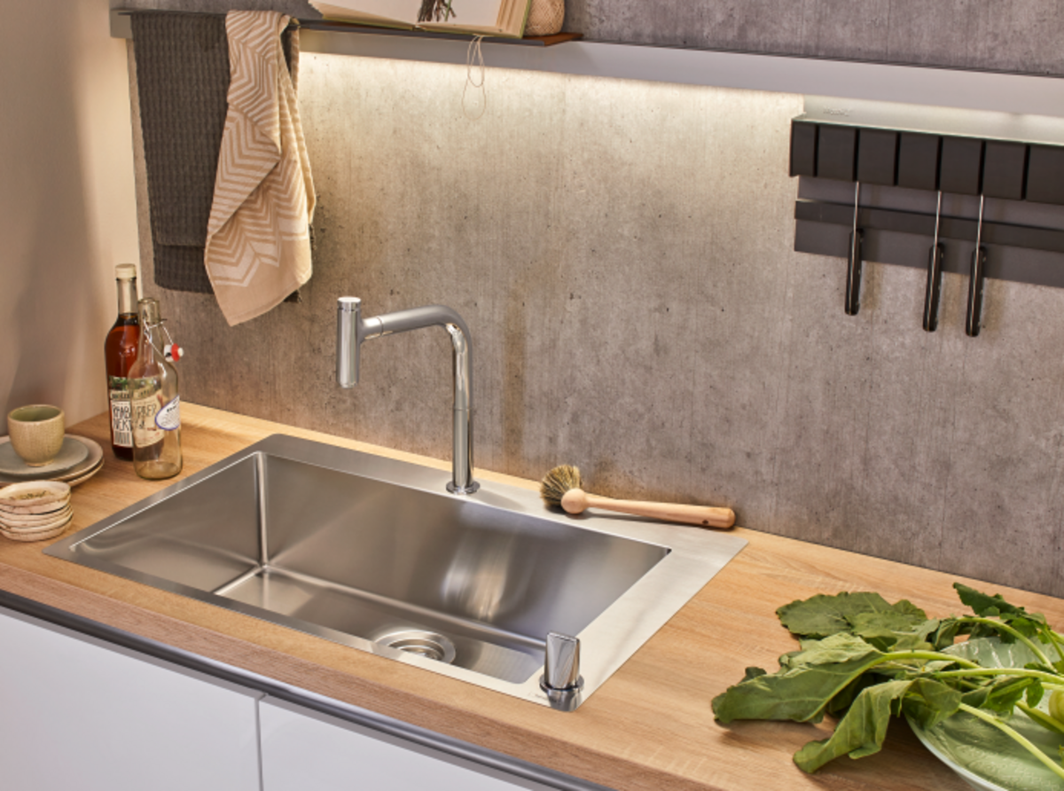 Coordinating A Kitchenette Tips Hansgrohe Int