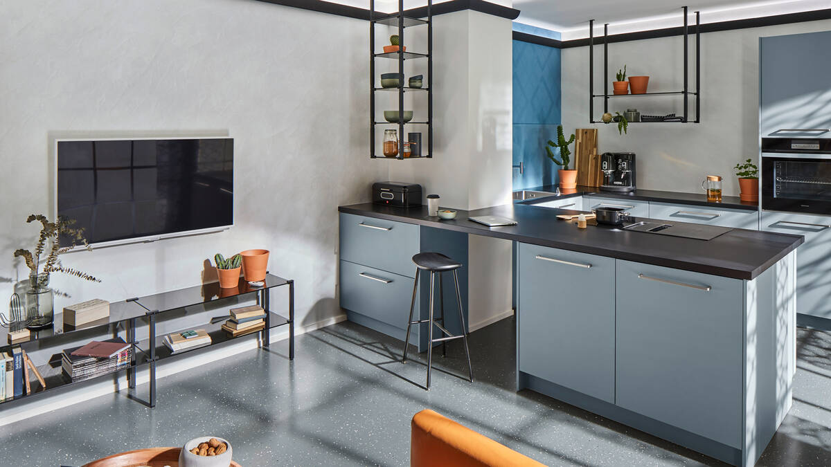Modern Loft Style Kitchens Hansgrohe Int