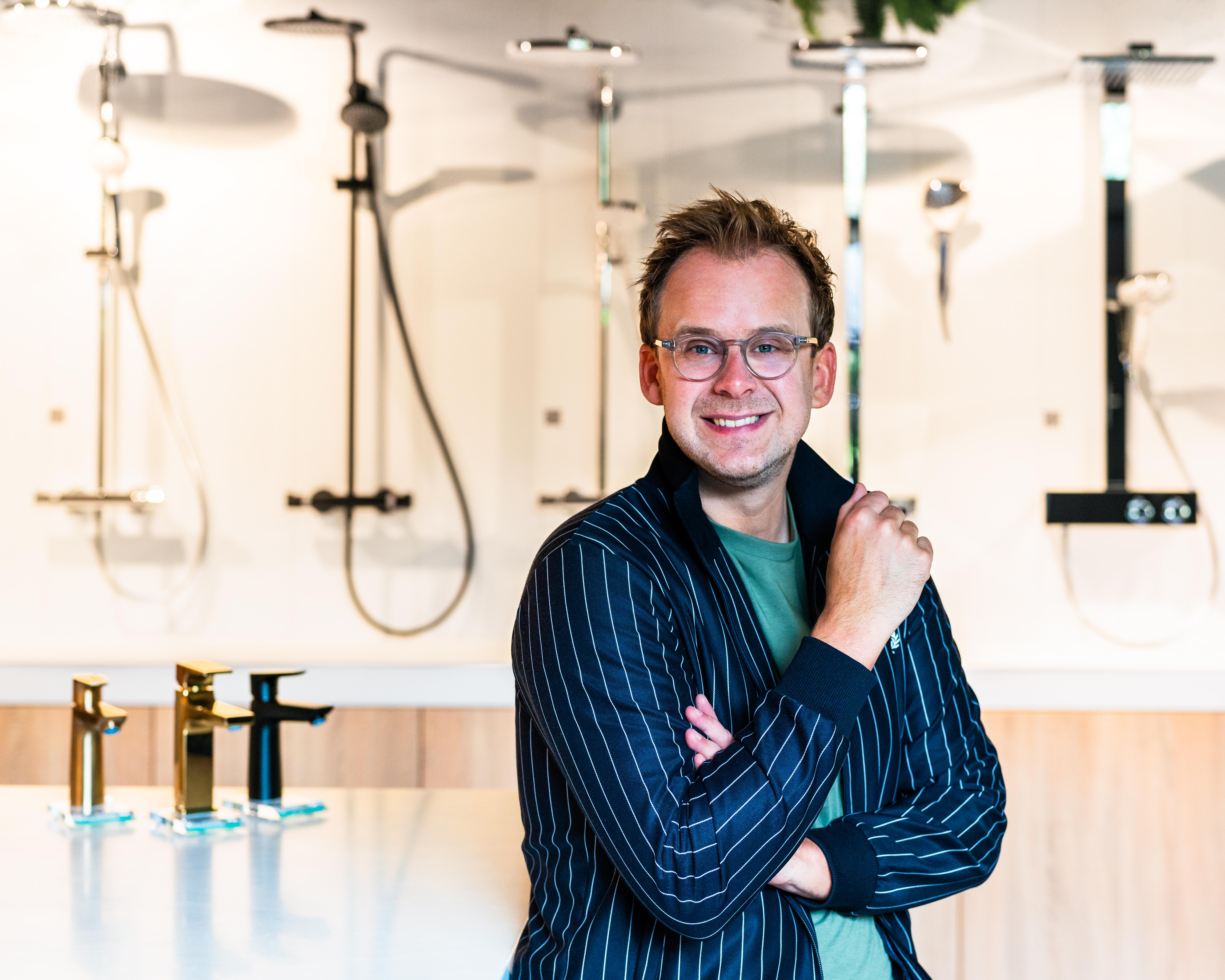 Theo-Bert Pot in The Water Studio Amsterdam