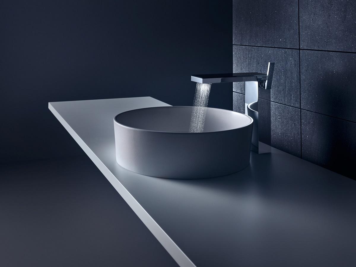 Für jeden Wasserhahn das passende Waschbecken   Hansgrohe Pro DE