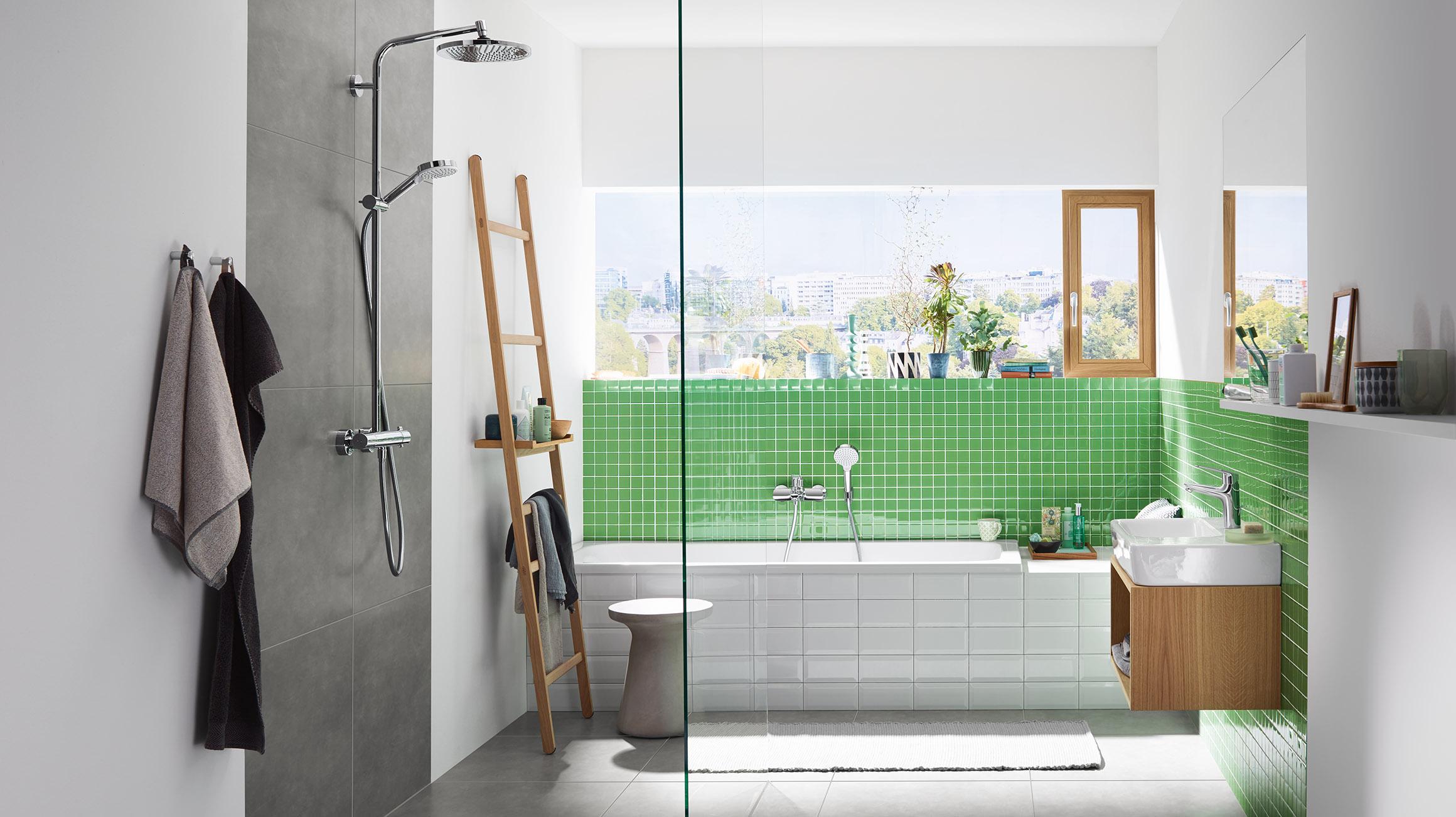 Grote Frisse Badkamer : De eerste eigen badkamer inrichten u met een fris interieur