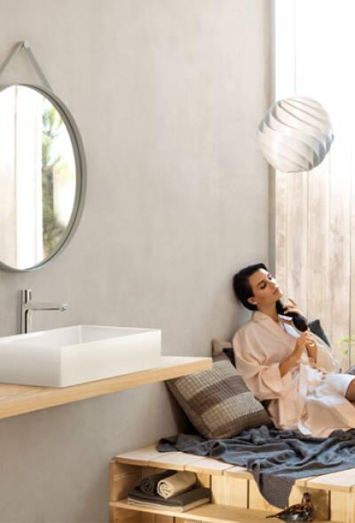 2018年卫浴潮流是天然材料。