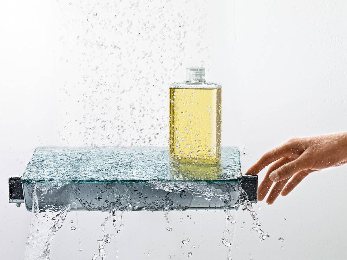 增加淋浴舒适感的易斯达恒温器。