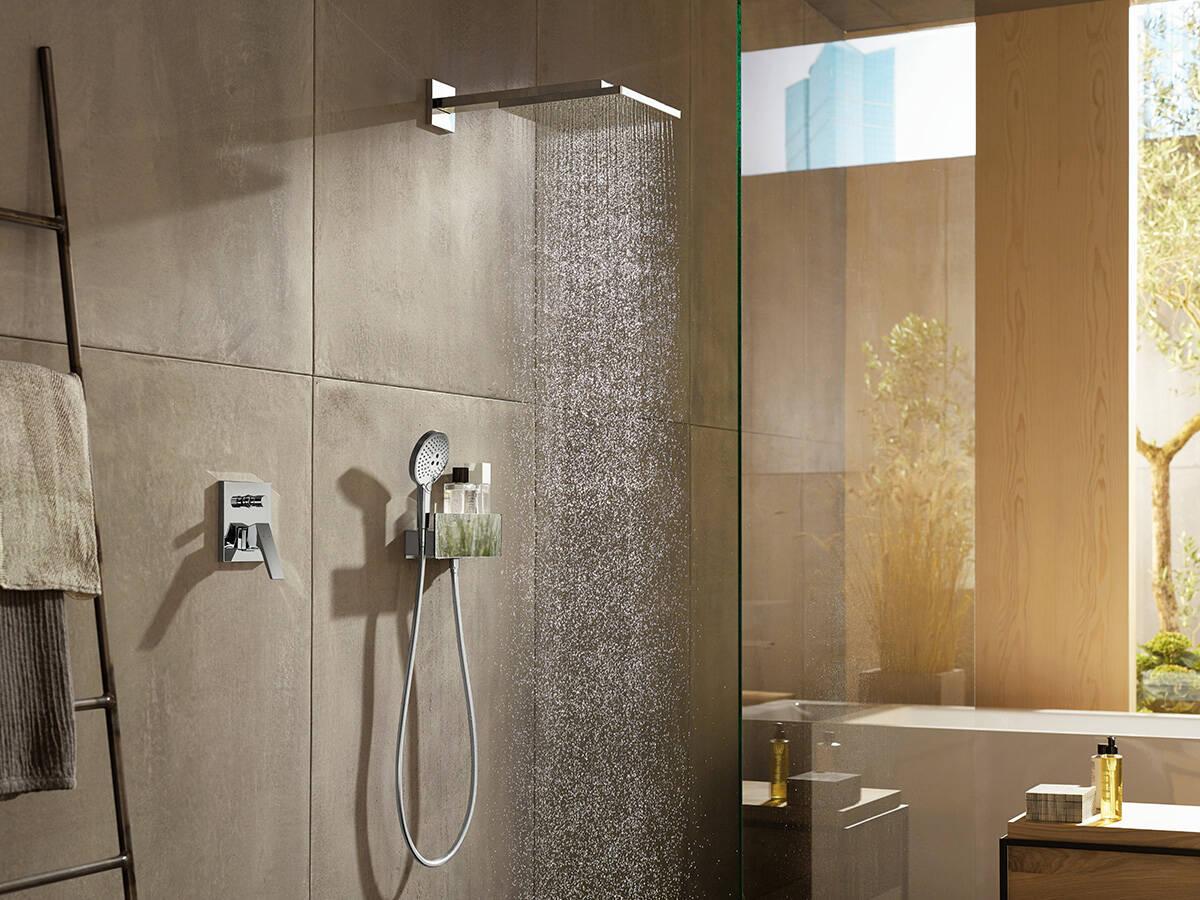 Flessibile doccia a supporto doccia per più piacere della doccia