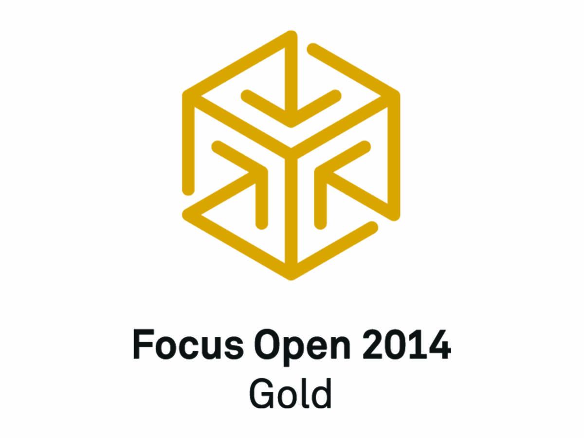 Focus Open 金奖标志。