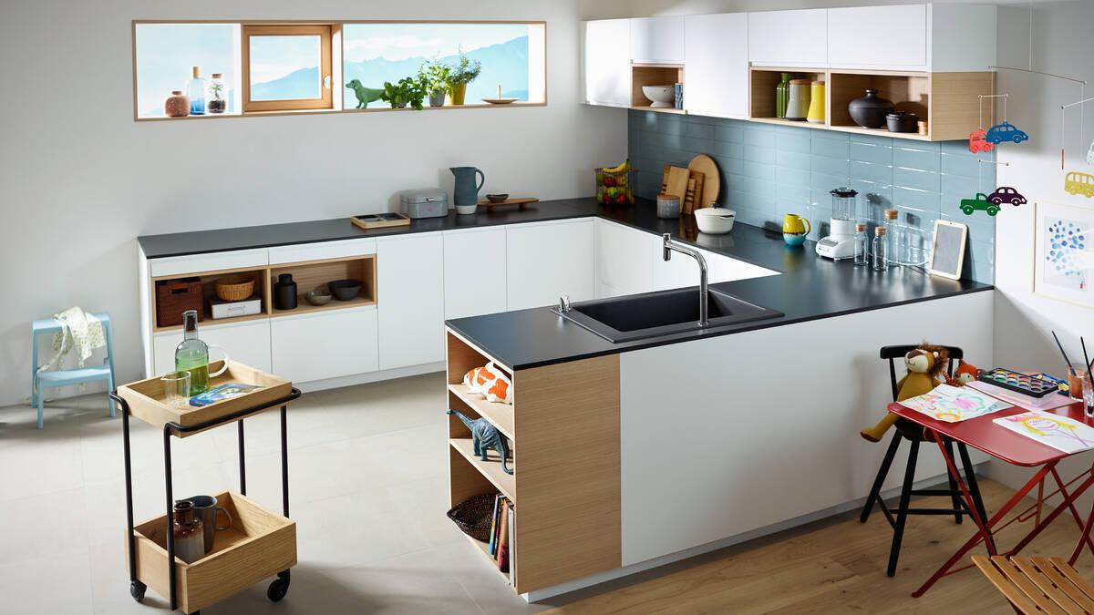 Graniet Is Een Trend In De Keuken Doe Inspiratie Op Hansgrohe Be