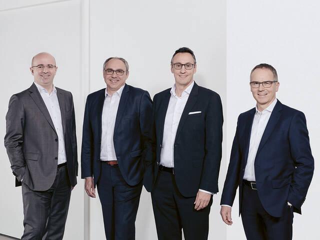 汉斯格雅集团管理委员会。