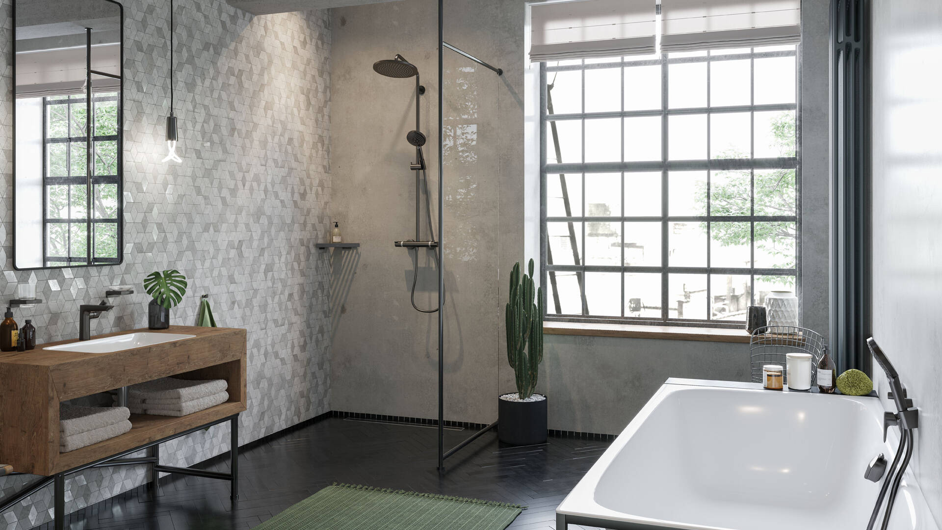 Taps for bathrooms, showers and kitchens   hansgrohe INT