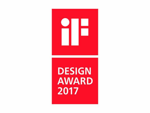 iF 设计奖标志。