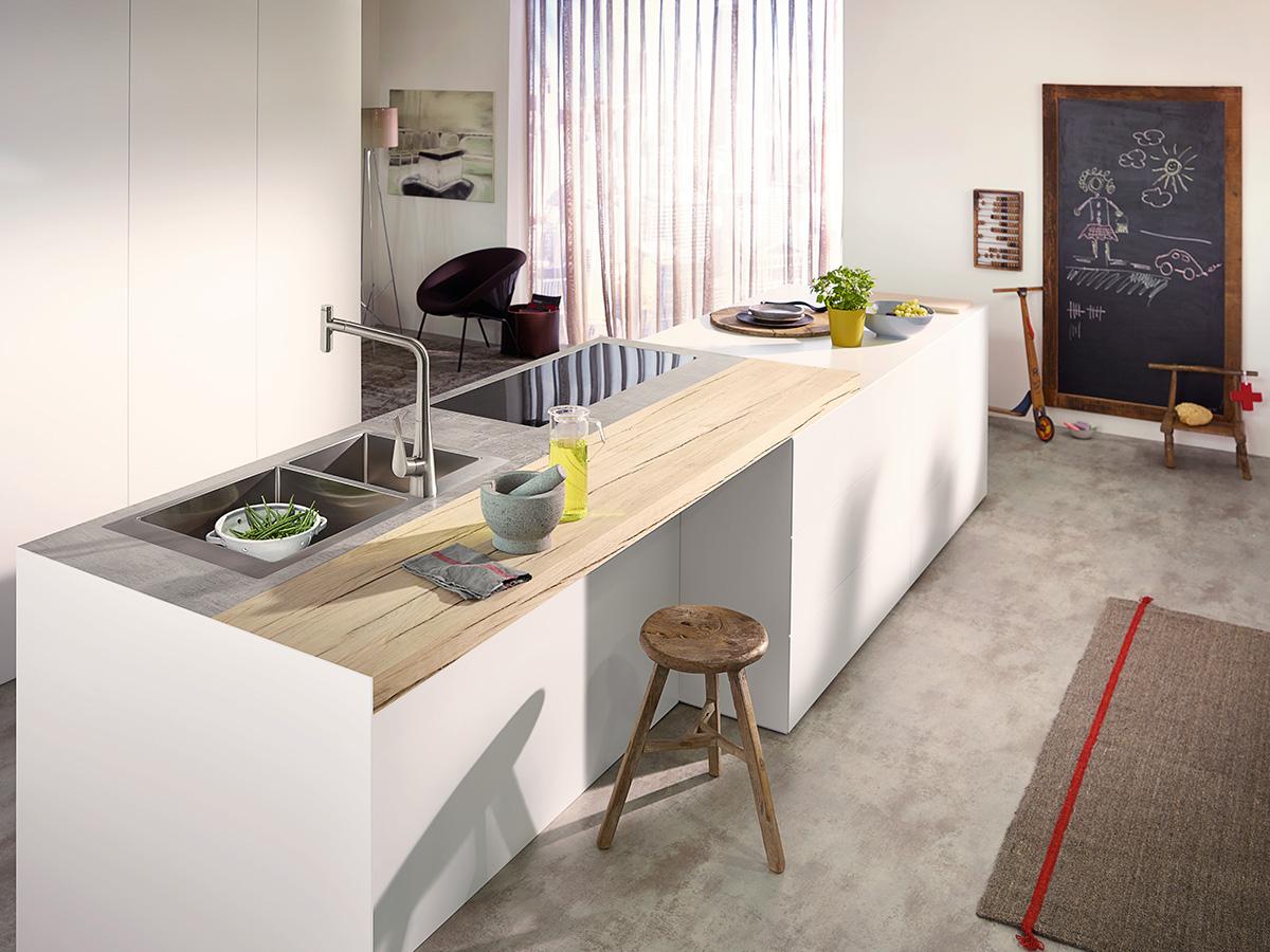 Keukenmengkranen u uw nieuwe kraan voor de keuken hansgrohe be