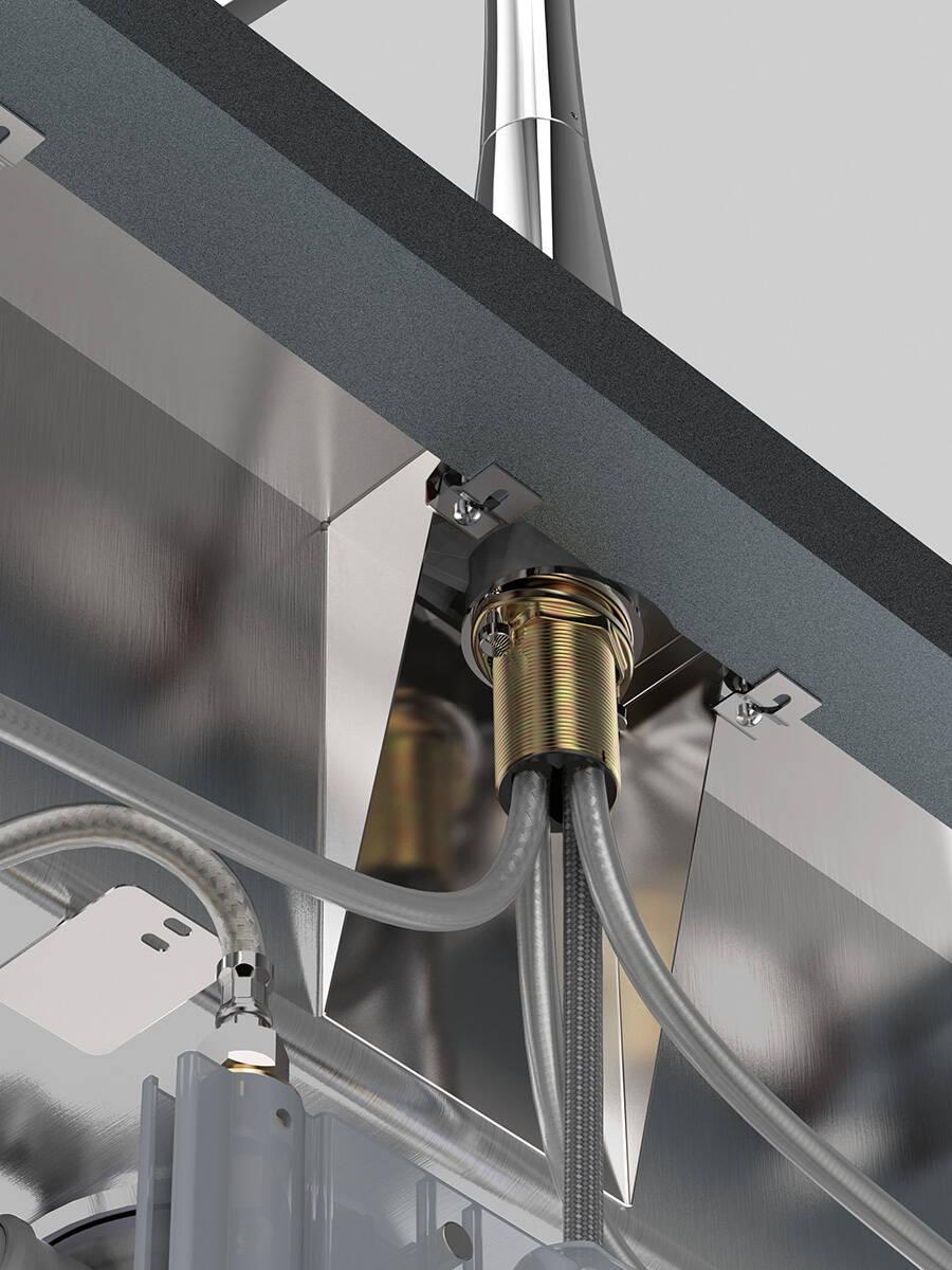 Turbo Ratgeber: Küchenspüle und Armatur einfach montieren | hansgrohe DE OW79