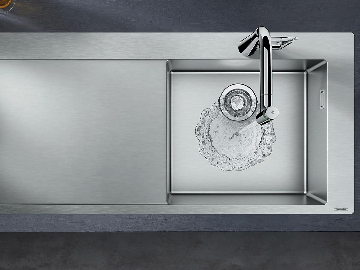 Innovatie in de keuken hoogwaardige spoelbakken hansgrohe nl