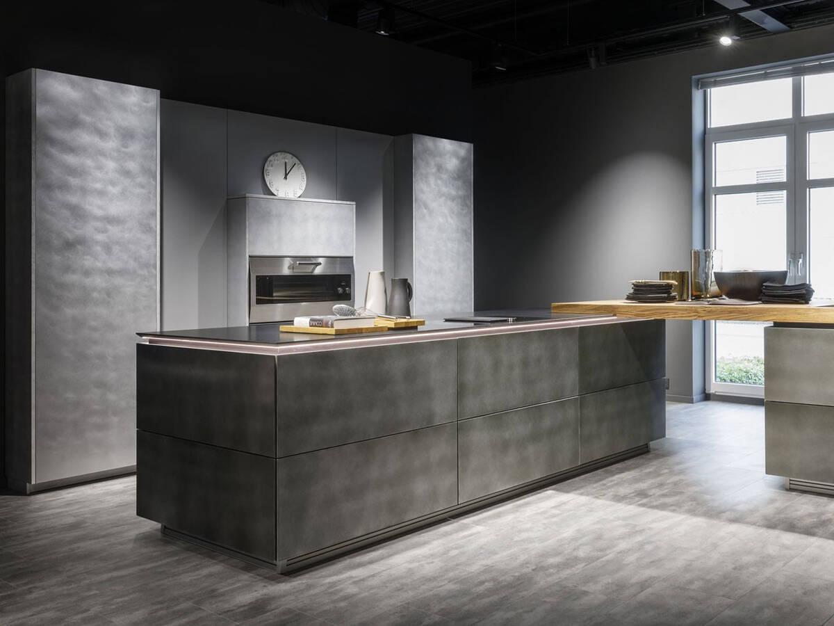 Küche im Industrial Style einrichten   hansgrohe DE