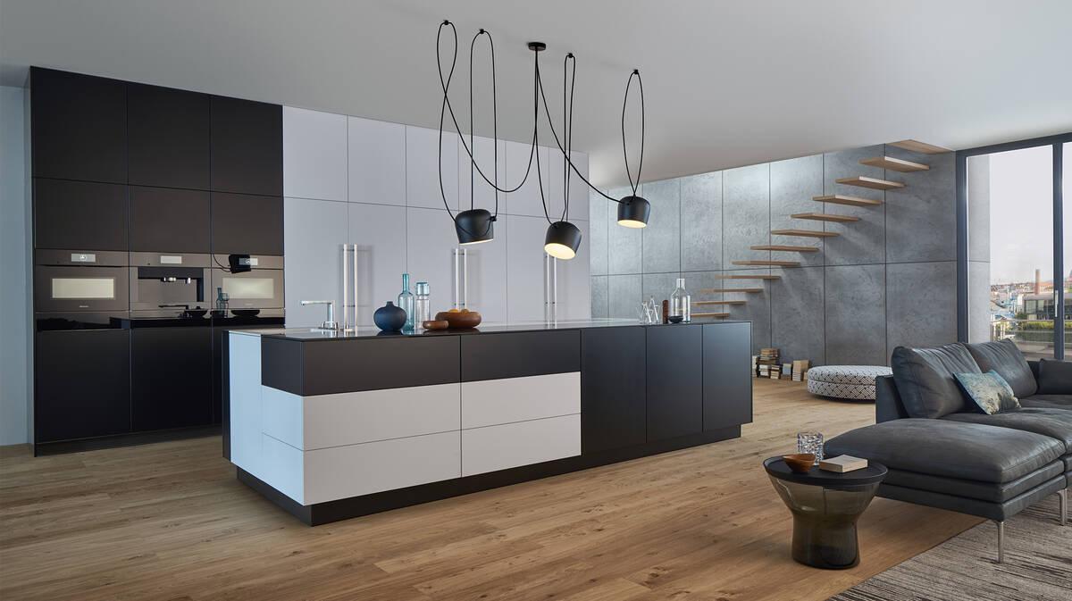 Keuken Plattegrond Open : Keukentrend: inspiratie voor een woonkeuken hansgrohe be