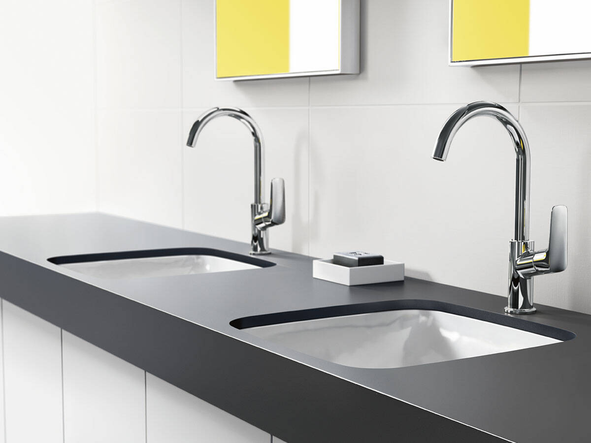 Grifería de baño Logis: moderna y asequible   hansgrohe ES