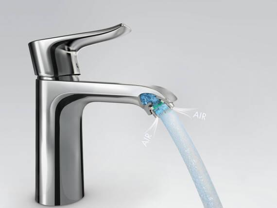 Waterbesparende douchekop: airpower is de oplossing hansgrohe be
