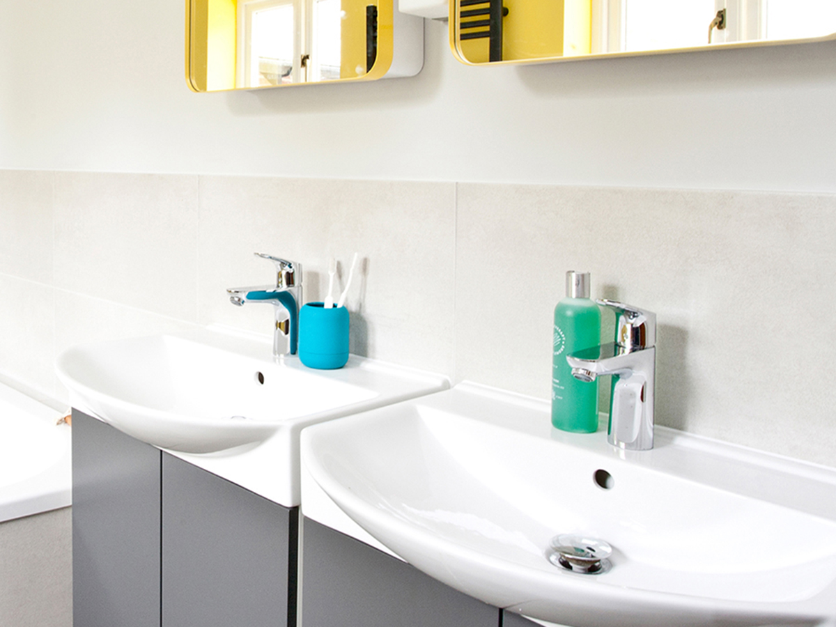 Badkamer Idee Natuur : Kleur in de badkamer u ideeën voor een vrolijke badkamerinrichting