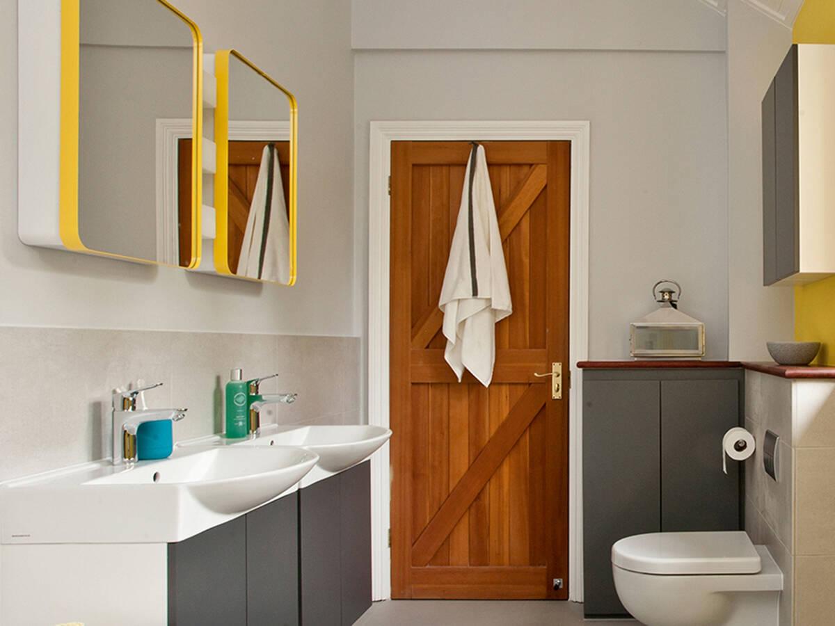 Farbe im badezimmer ideen f r fr hliches bad design for Bad ideen pdf