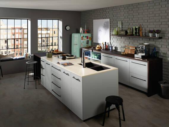 厨房小贴士:以设计感为主打的厨房
