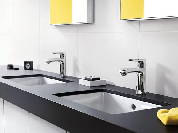 永恒之美:汉斯格雅最新消息现代浴室龙头。