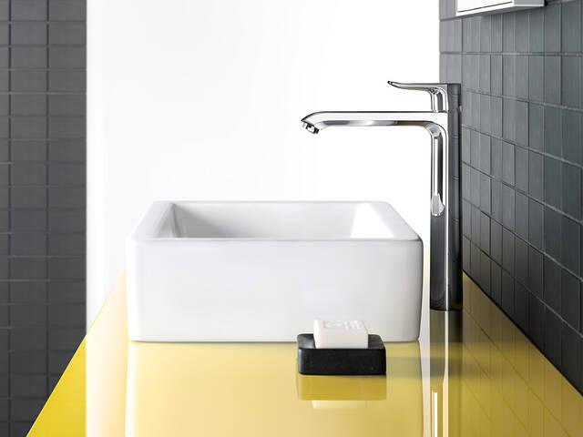汉斯格雅梦迪诗浴室系列中的台盆龙头。