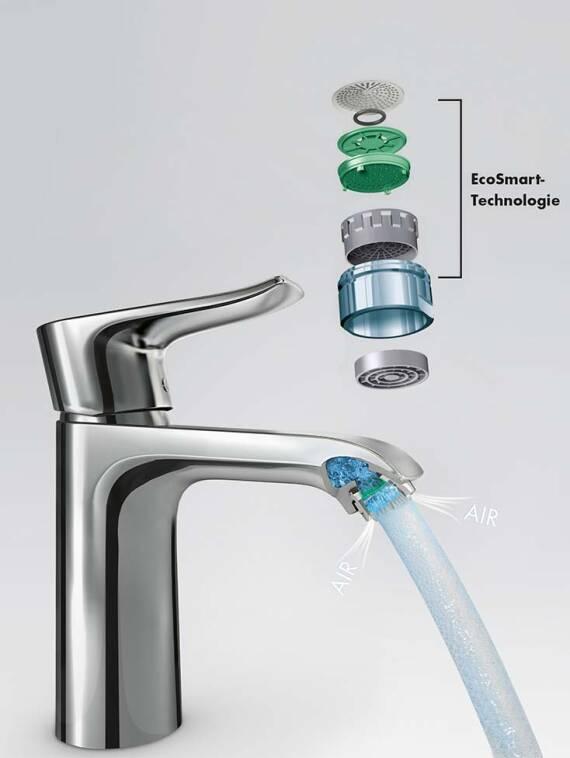 汉斯格雅智能节水为您打造节水浴室。