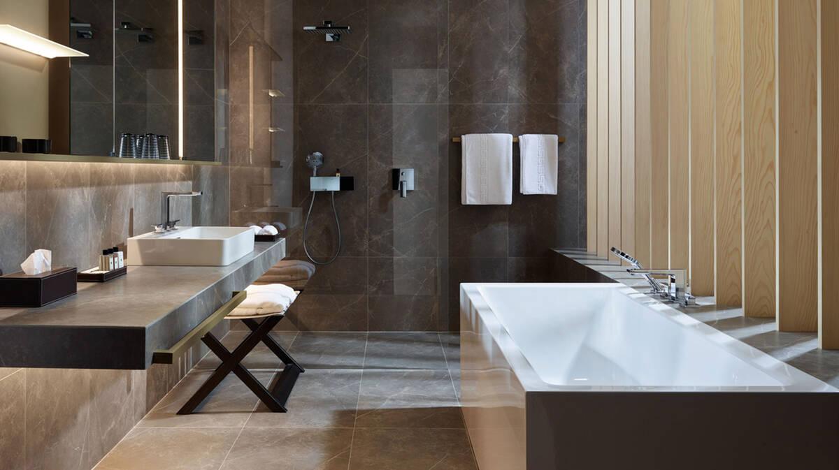 Pierre Naturelle Salle De Bain aménager une salle de bain de rêve tout en élégance