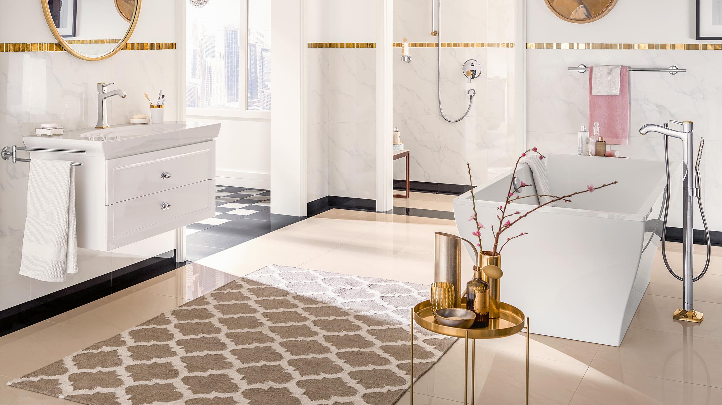 Een Gezellige Badkamer : Badkameraccessoires u deze trends maken uw badkamer mooier