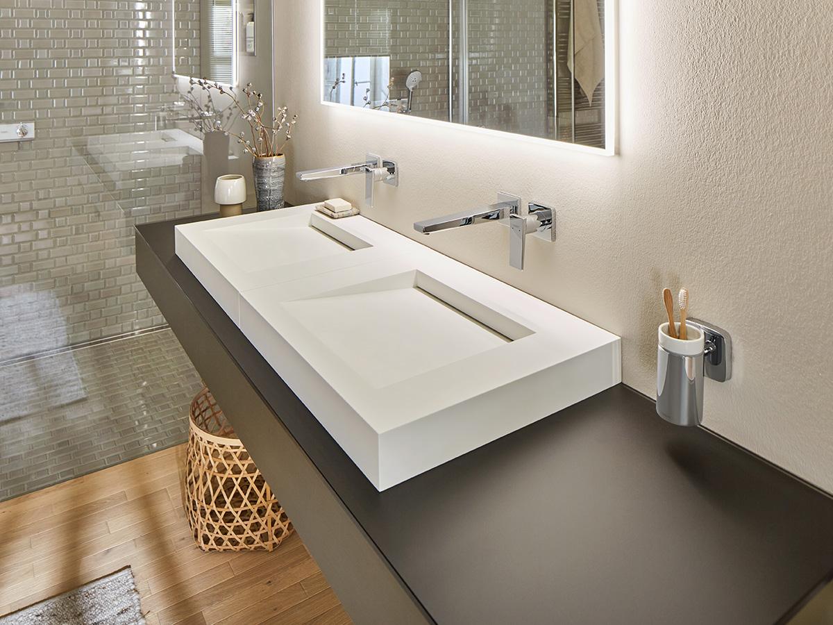Badezimmer Ideen, Tipps zur Badgestaltung & Stilfinder   hansgrohe DE