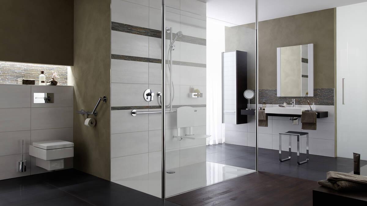 未来浴室潮流是无障碍浴室。