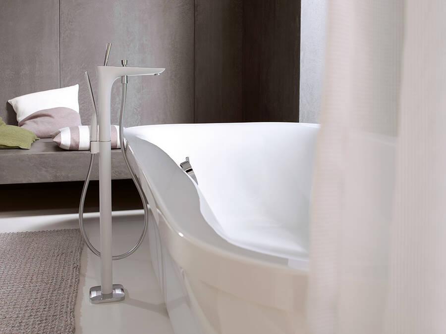 Badewannenarmatur Wanneneinlauf Fur Ihre Badewanne Hansgrohe De
