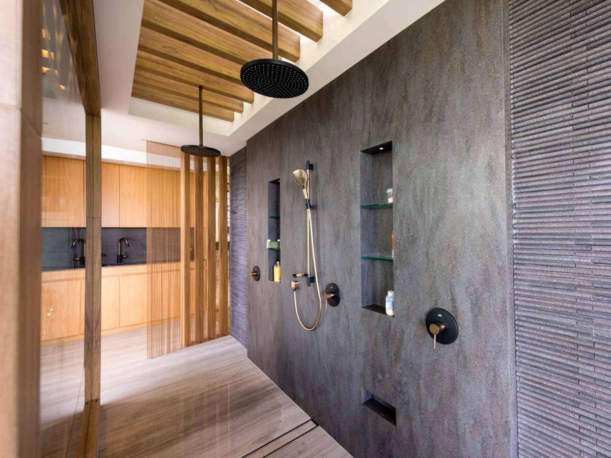 带来多样化用水享受的典雅淋浴系统。