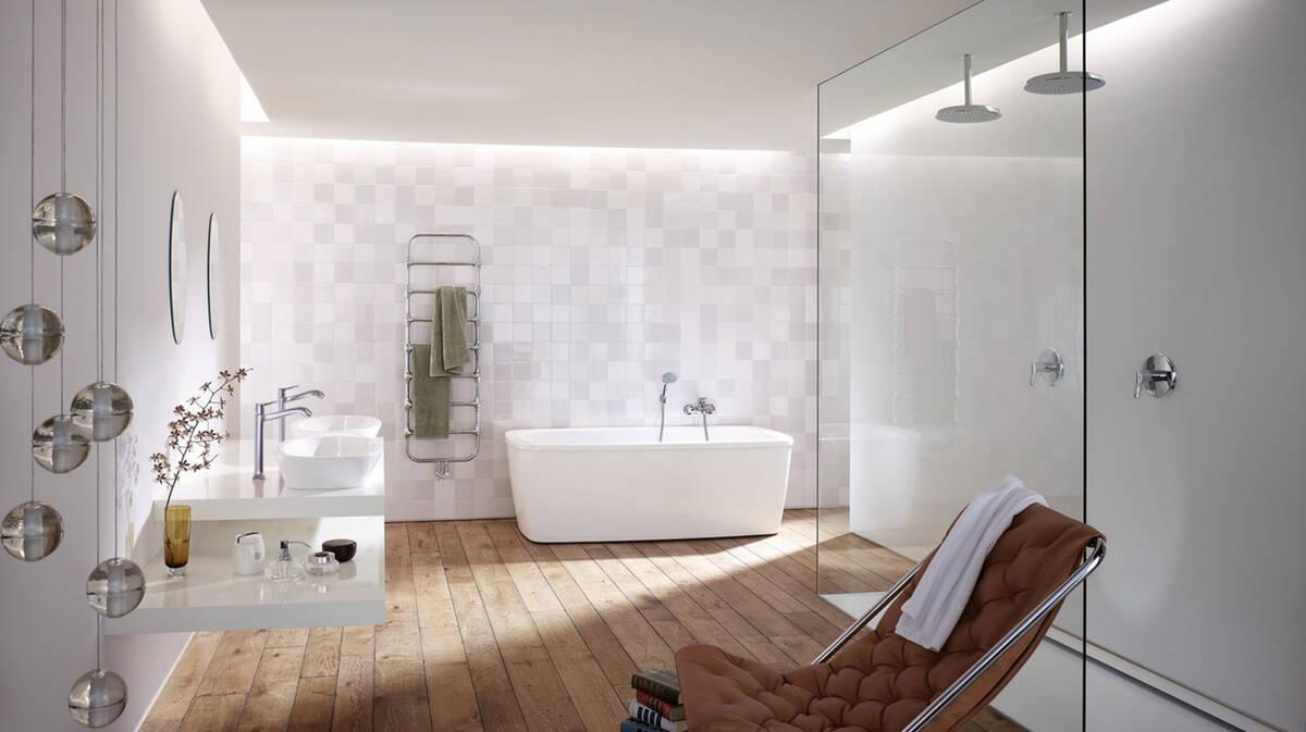 Salle de bain classique réinterprétée | hansgrohe FR
