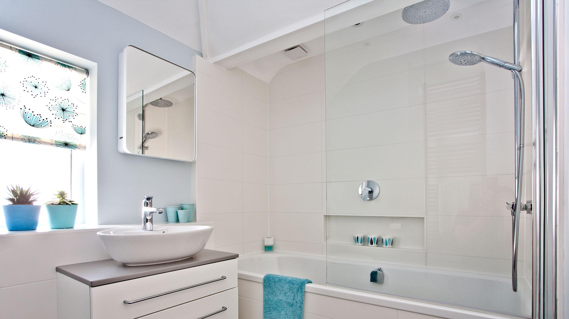 Een Gezellige Badkamer : Een huiselijke badkamer inrichten op een kleine plattegrond