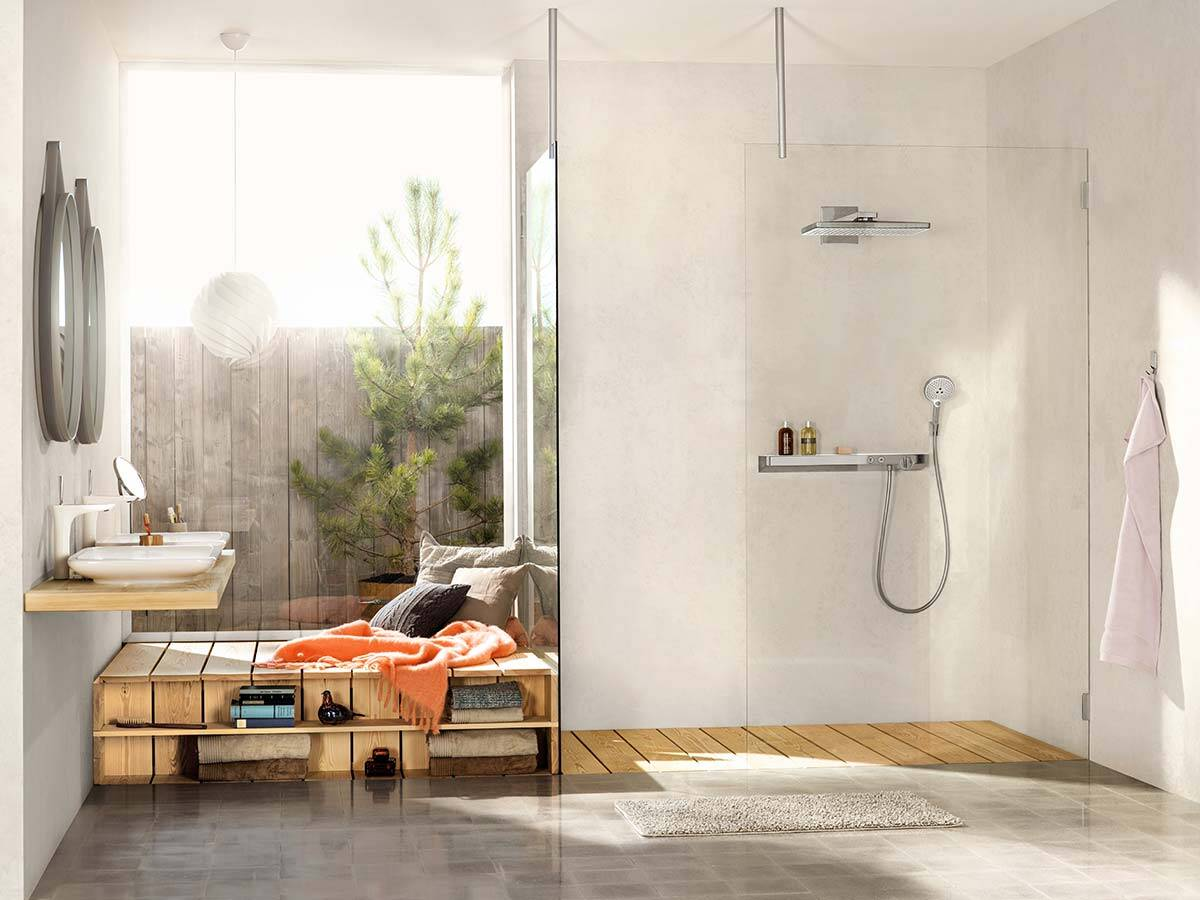 Moderne Badezimmer - Ideen für Ihre Badgestaltung | hansgrohe DE
