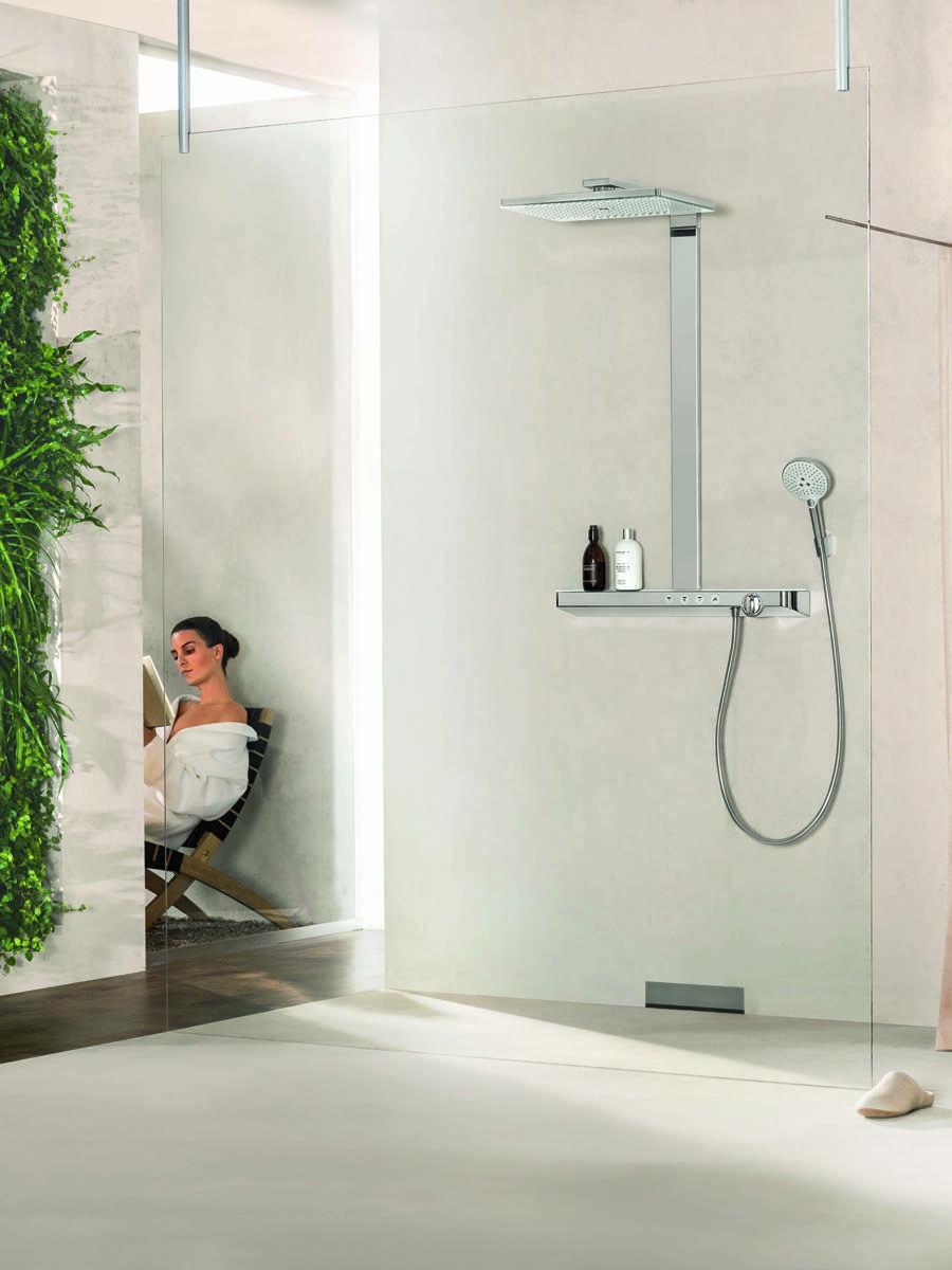 Duschsysteme Und Duschpaneele Das Volle Duschvergnugen Hansgrohe De
