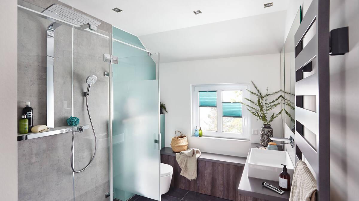 Jugendliches Badezimmer harmonisch einrichten | hansgrohe DE