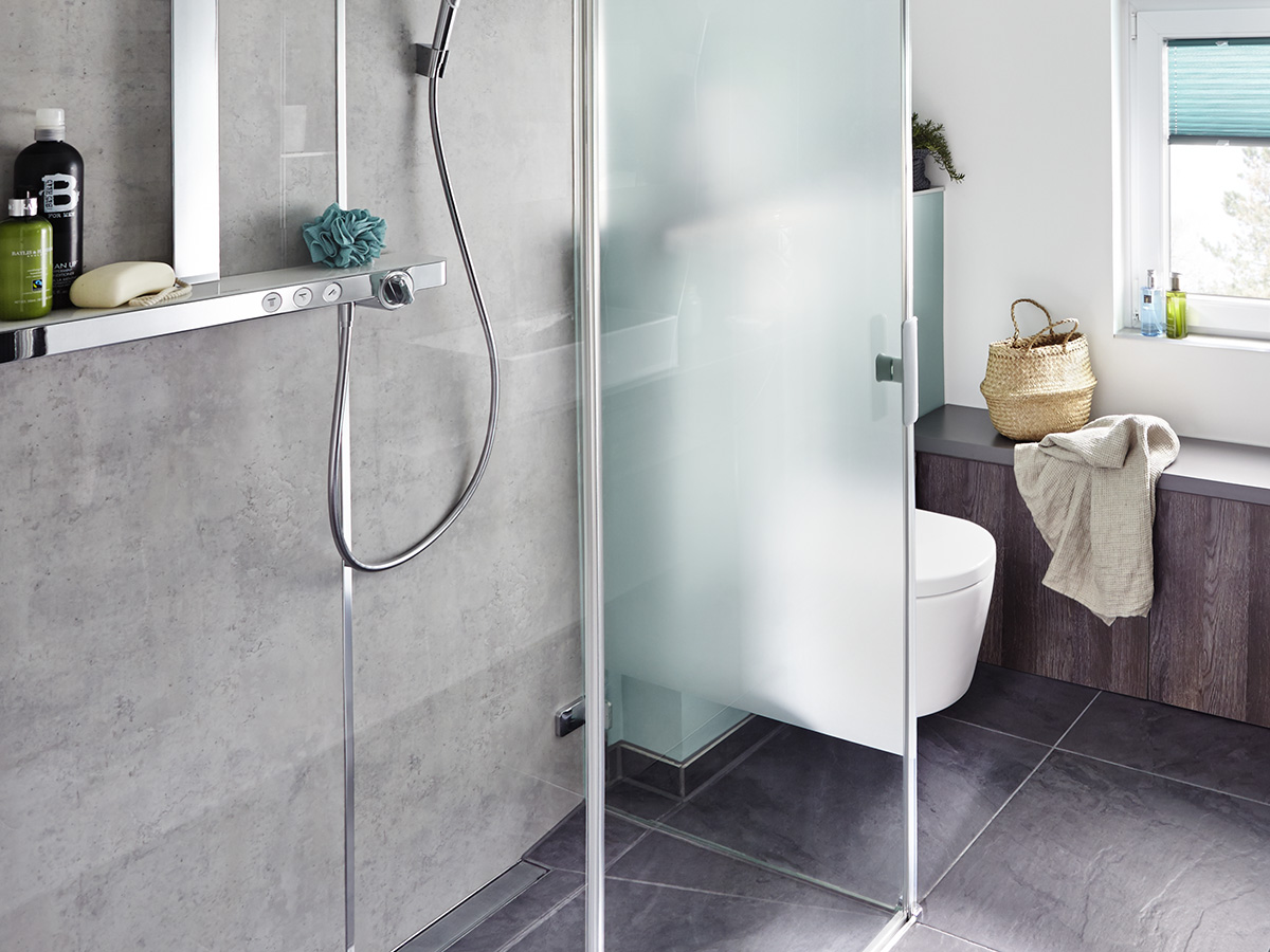 Floor Level Shower Guide To Planning Hansgrohe Int