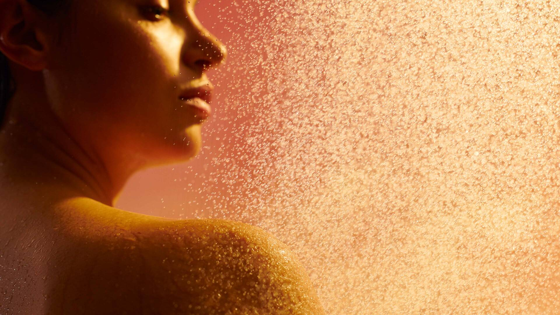 Guten-Morgen-Duschprogramm