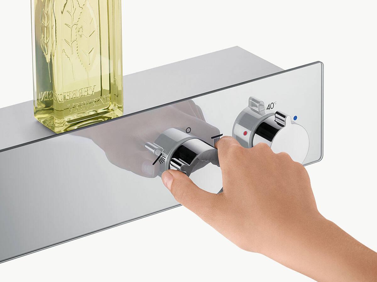 汉斯格雅浴室最新消息为淋浴房带来舒适与安全。