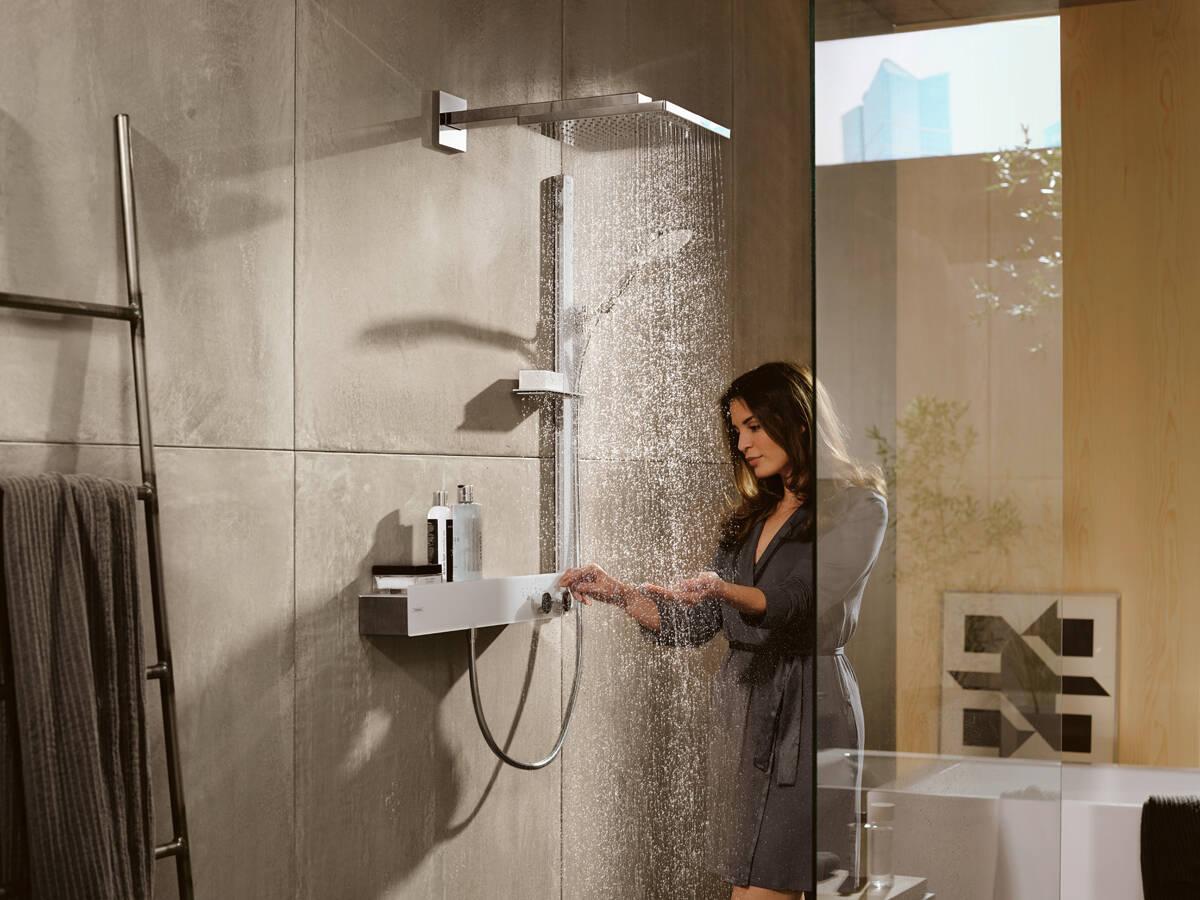 Thermostate f r dusche und wanne richtig ausw hlen hansgrohe de - Thermostatarmatur dusche ...