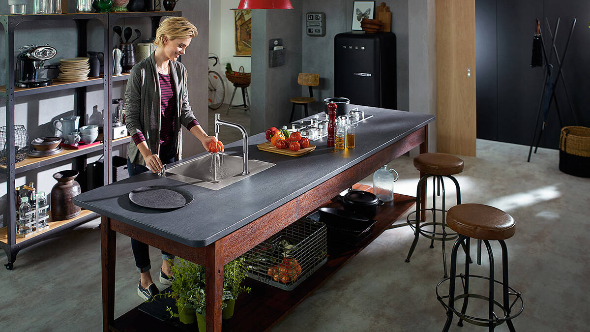 温暖风格组合点亮精彩厨房生活。