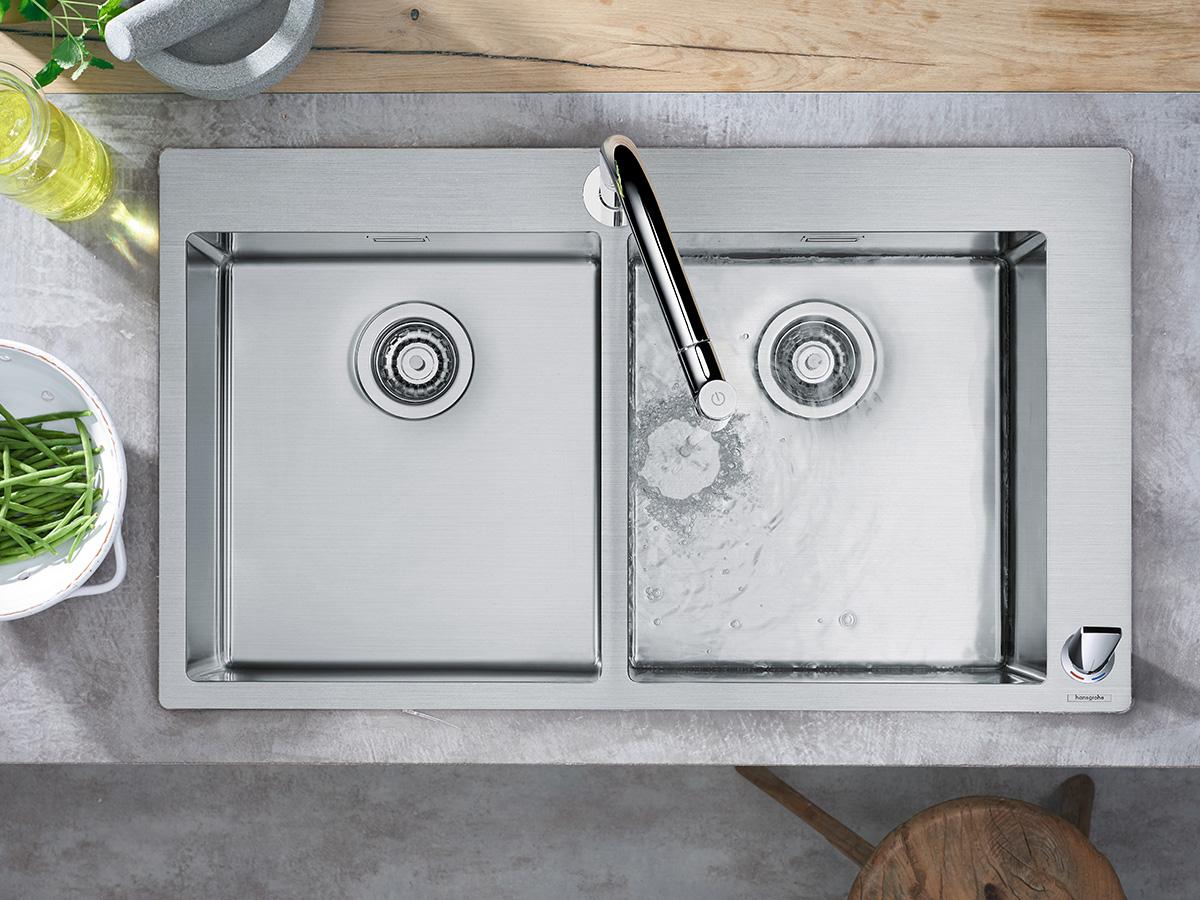 Nieuwe Badkamer Nijmegen : Kranen en douches voor badkamer douche en keuken hansgrohe nl