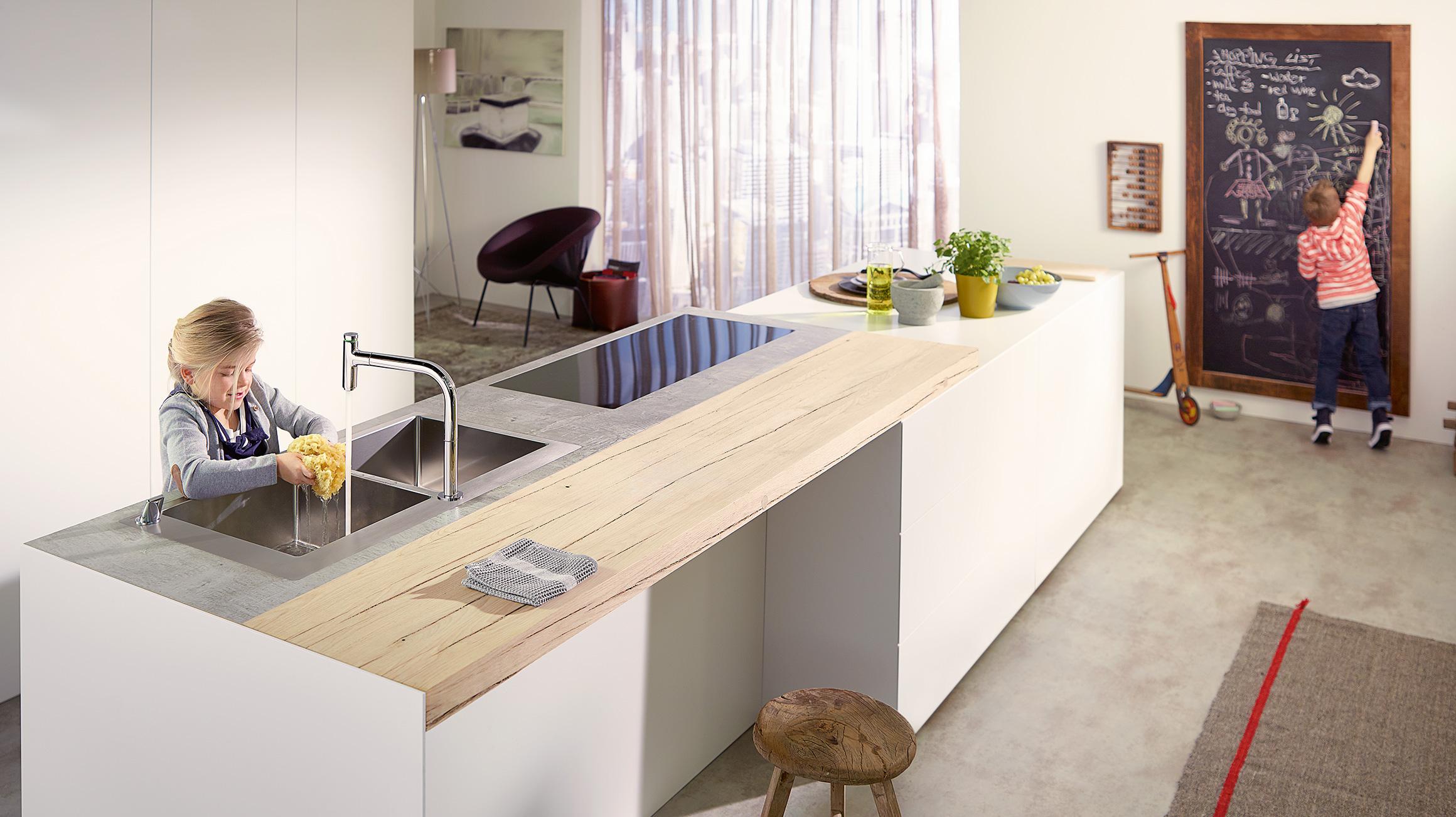 Moderne Open Keukens : De open keuken is een trend u ontdek hier sterke ideeën hansgrohe be