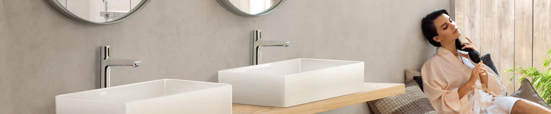 浴室配置创意。