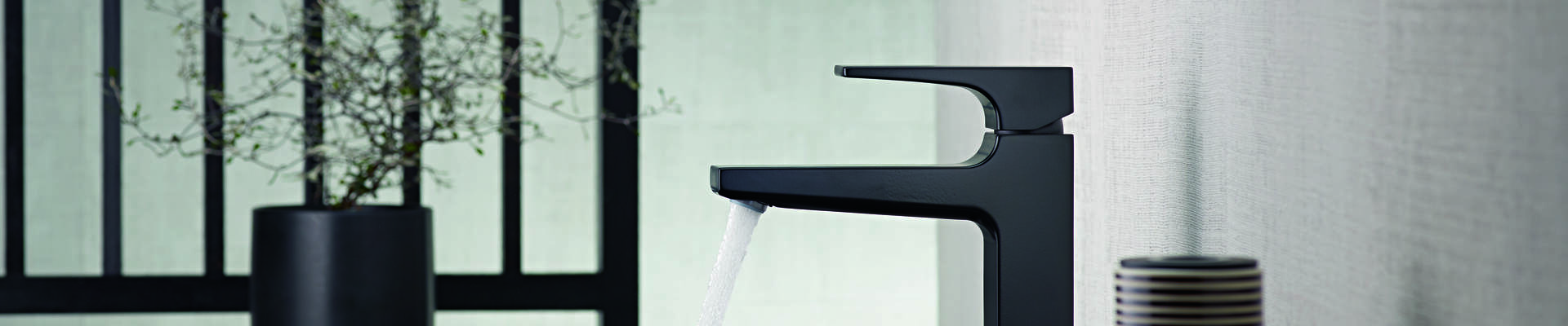 Geometric Taps For Modern Bathrooms Metropol Hansgrohe Int