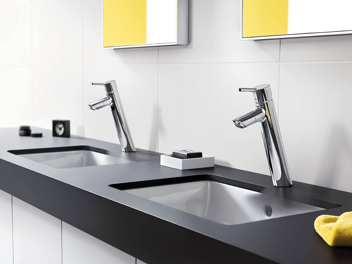 A Faucet With Modern Design Hansgrohe Talis